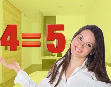 При покупке 4-х дверей 5-я в подарок!